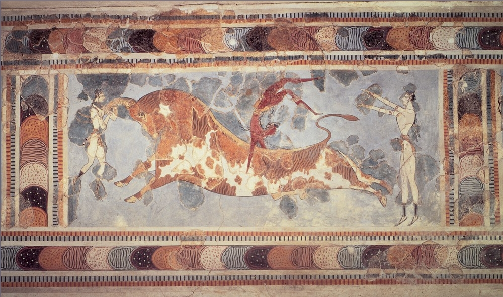 bull-leaping-painting-knossos