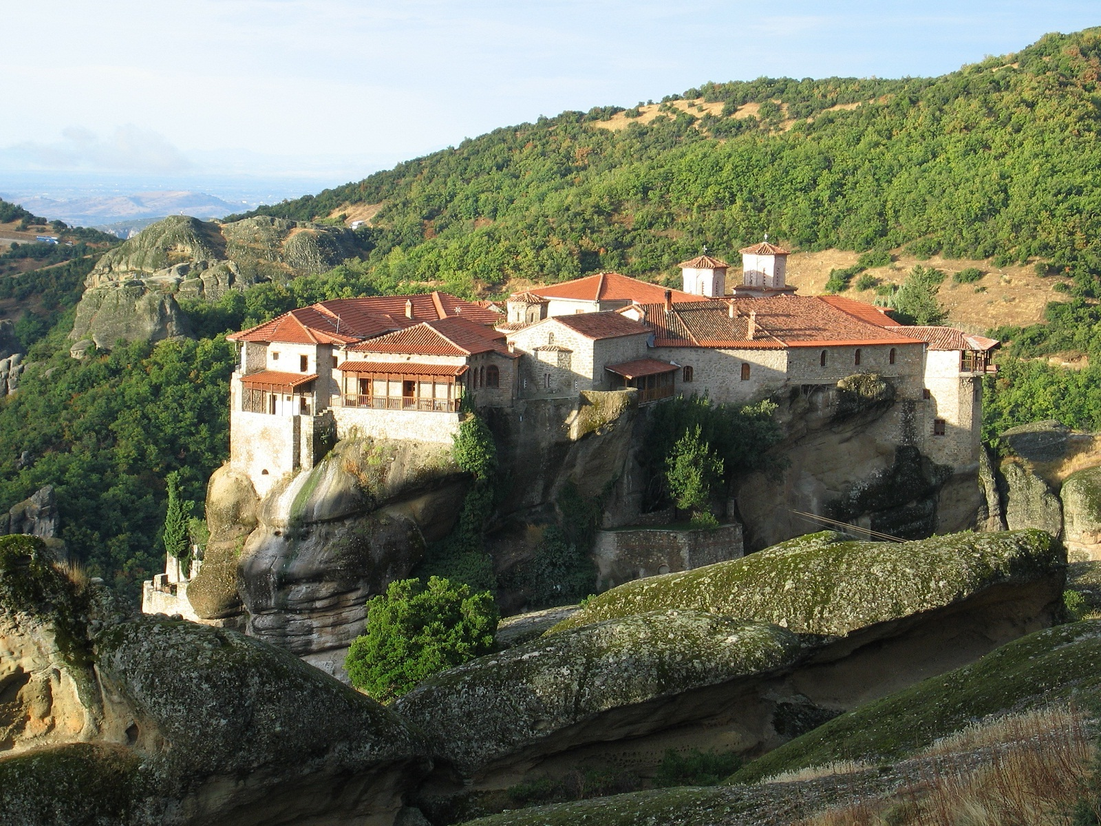 Meteora – Pinnacles of History  Search of Life