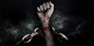 The first of a man is not made to be shackled in chains