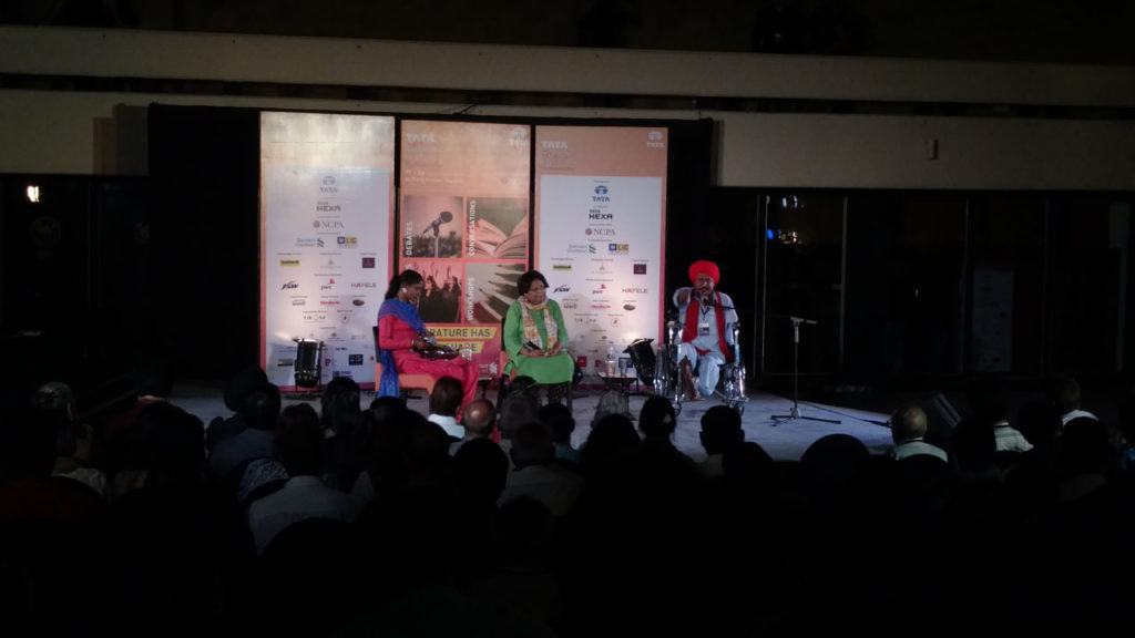 The Ballads of Bant Singh with Nirupama Dutt, Bant Singh and his daughter Baljit.